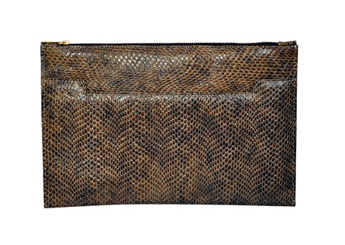 womens-genuine-brown-reptile-leather-designer-clutch-bag