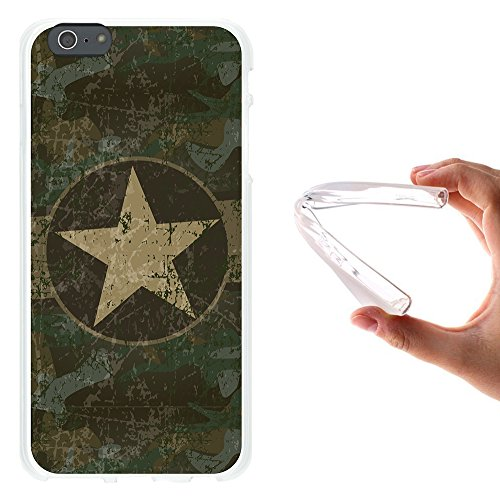 iPhone 6 Plus | 6S Plus Hülle, WoowCase Handyhülle Silikon für [ iPhone 6 Plus | 6S Plus ] Astronaut Herz - I Love To the Moon And Back Handytasche Handy Cover Case Schutzhülle Flexible TPU - Schwarz Housse Gel iPhone 6 Plus | 6S Plus Transparent D0103