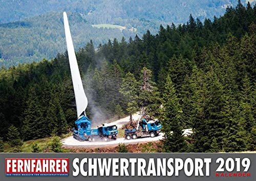 Schwertransport Kalender 2019