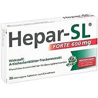 Hepar-SL forte 600 mg Tabletten, 20 St. preisvergleich bei billige-tabletten.eu