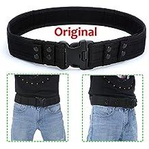 YAHILL® Seguridad Cinturón Táctico Seguro de Combate 5a299c9c3181