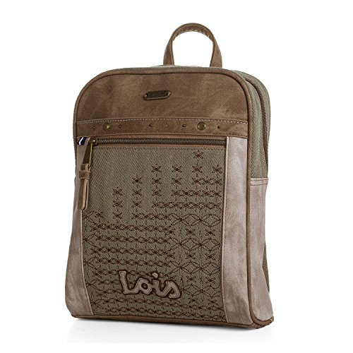 LOIS - Mochila Augusta para mujer, Color Beige
