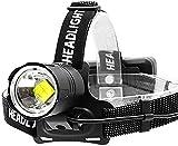 Jsmhh Jsmhh Scheinwerfer-90000 Lumen - Scheinwerfer USB Wasserdicht gebührenpflichtigen 3 * 18650 aufladbare Taschenlampe Scheinwerfer