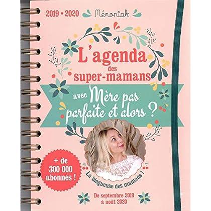 Agenda Mémoniak des super-mamans avec Mère pas parfaite et alors ? 2019-2020