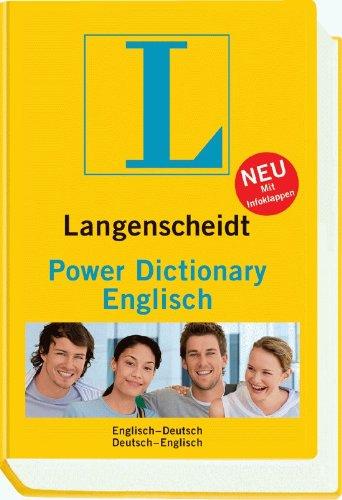 Langenscheidt Power Dictionary Englisch: Englisch-Deutsch/Deutsch-Englisch Ac-power-single