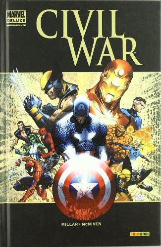 Mark Millar, Steve Mcniven. . ¡El mayor evento de la historia del cómic, al fin recopilado en un volumen imprescindible y plagado de extras! El Universo Marvel está cambiando. Es tiempo de elegir: ¿De qué lado estás? Un conflicto que se ha estado lar...