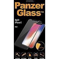 PanzerGlass 2623 - Protector de pantalla (Protector de pantalla, Apple, iPhone X, Resistente a arañazos, Negro, 1 pieza(s))