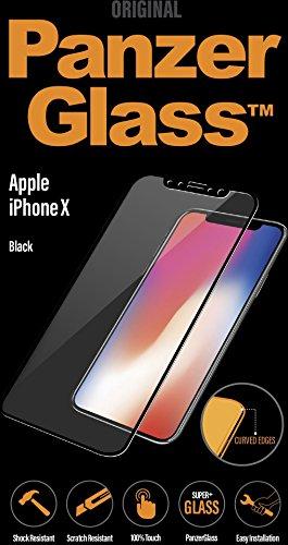 Image of PanzerGlass PREMIUM Apple iPhone X Black Displayschutz