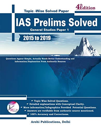 IAS Prelims Solved (Last 5 yeras)