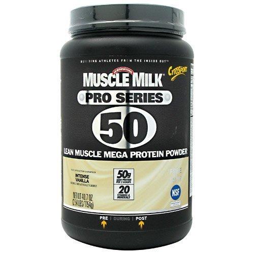 CytoSport Muscle Milk Pro Series 50 Powder Intense Vanilla -- 2.54 lbs by CytoSport