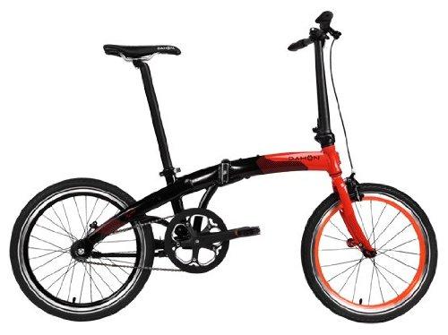 "Dahon MU Uno Single Speed Vélo pliable rétropédalage Cayenne/Obsidienne 20"""