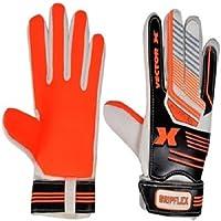 Vector X Gripflex Goalkeeping Gloves (White, Black, Orange)