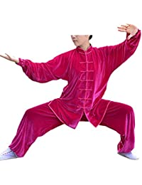 KIKIGOAL Winter Warm Unisex Chino Tradicional Tai Chi Uniformes Kung Fu Ropa Tang Suit Artes Marciales