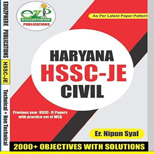 HSSC-JE 2019 Book For Civil Engineering