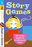 Read with Oxford: Stages 1-2: Phonics Story Games Flashcards