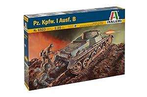 Italeri 65231: 35WWII DEU. Tanque Panzer I acabado B, Vehículo
