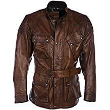 Belstaff Uomo Giacca in pelle panther Cognac