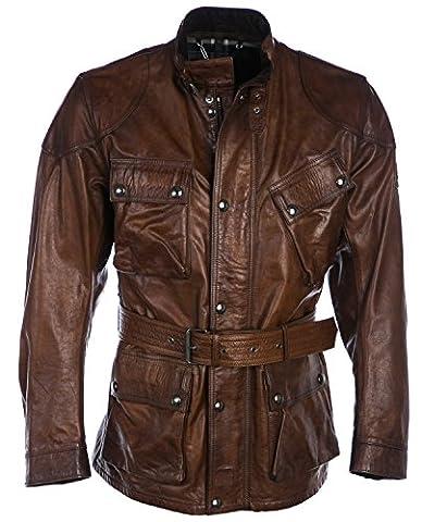Belstaff Jacket The Panther in Cognac 44