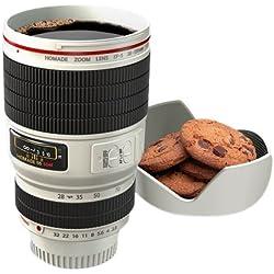 thumbsUp - Tasse de lentille de l'appareil photo en blanc - 0001065