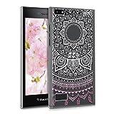 kwmobile Crystal Case Hülle für Blackberry Leap mit