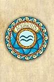 Aquarius: Zodiac Astrology Symbol Star Sign Gift Journal