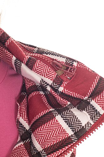 Temster Damen Sweatshirt Rot