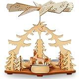 SIKORA P22 Holz Teelicht Weihnachtspyramide