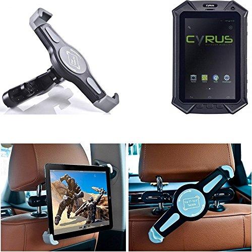 K-S-Trade pour Cyrus CT 2 Support Universel De Tablette Appuis-tête Voiture Auto Siège P. Portable DVD Player Etc. 1x