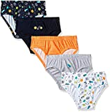 #10: Mothercare Boys' Animal Print Brief (Pack of 5)