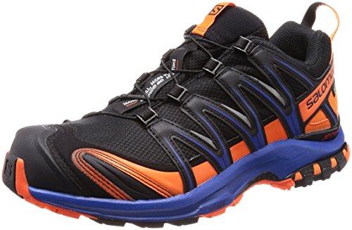 Salomon XA PRO 3D GTX Ltd, Scarpe da Trail Running Uomo, Nero (Black/Scarlet Ibis/Surf The Web 000), 42 2/3 EU
