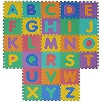 VeloVendo® - Tappeto Puzzle con Certificato CE e Certificazione TÜV in soffice Schiuma EVA | Tappeto da Gioco per Bambini | Tappetino Puzzle