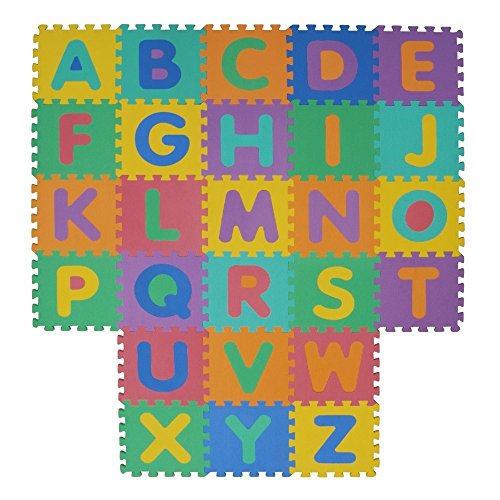 Velovendo® - alfombrillas de puzzle en espuma suave de EVA | Alfombra para niños