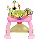 Baby Bucket Baby Jump and Play Activity Centre Baby Toys Multifunctional Baby Bounce Chair with Light and Electronic Organ (Red)