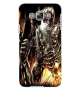 ColourCraft Demon Design Back Case Cover for SAMSUNG GALAXY E7