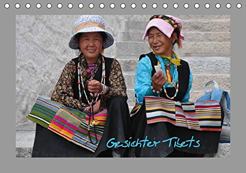 Gesichter Tibets (Tischkalender 2021 DIN A5 quer): Tibet - Tradition und Anmut in der Heimat des Dalai Lama (Monatskalender, 14 Seiten ) (CALVENDO Menschen)