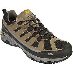 Trespass Cardrona, Chaussures de Randonnée Basses Homme, Marron (Brindle), 44 EU