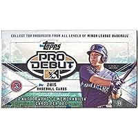 2015 Topps Pro Debut Baseball Hobby Box MLB