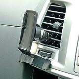 BuyBits Ultimate Kfz-Halterung, für Luftauslässe, GPS KFZ Halterung für Garmin Oregon 400t 450 450t, 200/300/550/550t 600 650 650t 600t