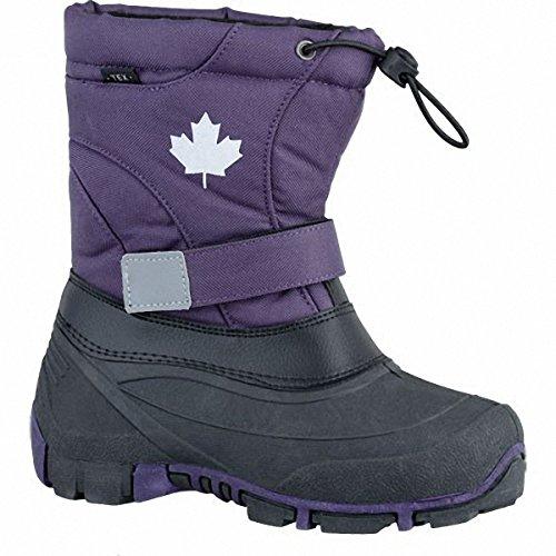 Canadians Unisex-Kinder 467 185 Schneestiefel Violett (Lilac)