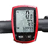 Best Bike Speedometers - Yakamoz Multi-Function Speed/ Distance/ Temperature/ Calories Wireless Bike Review