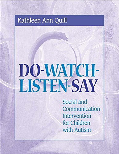 Do-Watch-Listen-Say: Social and Communication Intervention for Children with Autism