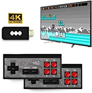 Ronshin Electronic 4K HDMI Video Game Console Mini Retro Console Wireless Controller HDMI Output Dual Players