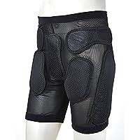 Pantalones cortos de hombres para esquiar, patinar, hacer snowboard, andar en motocicleta o bicicleta