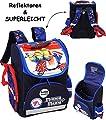 Unbekannt Schulranzen - Minions - Ich einfach unverbesserlich - Vespa - SUPERLEICHT & ergonomisch + anatomisch - Schulrucksack / mit Reflektor - Tasche - wasserfest..