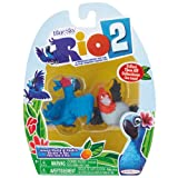 Rio 2 – jp69307 – Furniture and Decoration – Pack of 2 Figurines – Jewel & Pedro