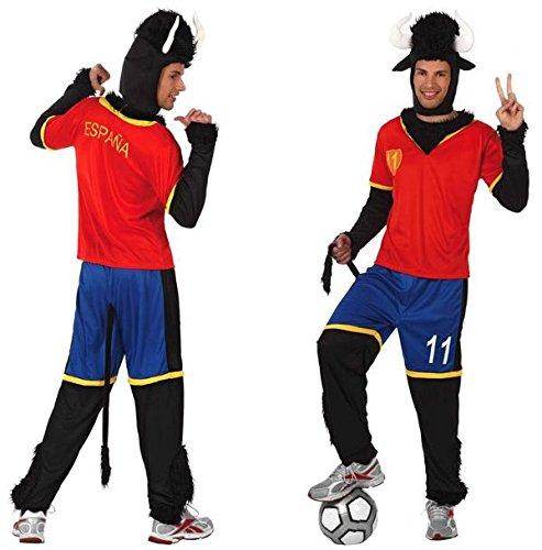 Imagen de disfraz de toro futbolista selección t 2