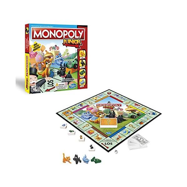 Hasbro Gaming- Monopoly Junior, Versione 2018, A6984456 3 spesavip