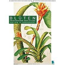 Blüten: Zeichnungen und Stiche aus dem 19. Jahrhundert (Wandkalender 2018 DIN A3 hoch): Farblithografien und Kupferstiche zarter Pflanzenstudien ... [Kalender] [Apr 01, 2017] CALVENDO, k.A.