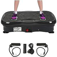 Wefun Fitness Plate Vibrationstrainer, für Den Büro-Wohnzimmer, Multi-Funktions mit Bluetooth und USB,Vibrationsplatte…