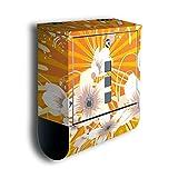 Cassetta con decorazione motivo: Nicole bk187, Acciaio Inossidabile Designer Posta con giornali, Mailbox, design cassetta, Post Box